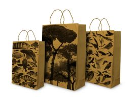 Three papers bags by Betulis