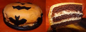 Halloween Cake 2014 - 2 by Wilhelmine