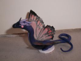Purple Butterfly Dragon by spot1the2dog3