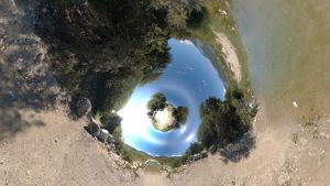 Bryce 7.1 Pro - Horo's gigantic wide angle lens 2 by davidbrinnen