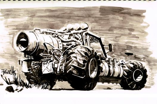 Buggy sketch by Fpeniche