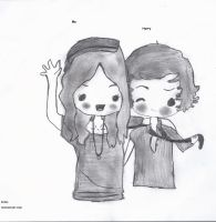 Me and gorgeous Harry by popmusic122