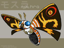 Mothra by wibblethefish