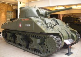 Sherman Tank 'Willie Pusher II' by rlkitterman
