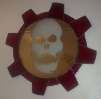 Gears of War Inspired Mirror by Veggie-San
