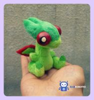 Chibi Flygon by BlueRobotto