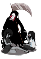 Jane y Jeff the killer  Puro Hueso by allison1205