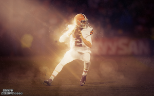 Johnny Manziel | Wallpaper by ClydeGraffix
