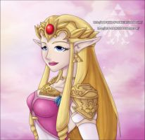 ZPP: Princess Zelda by Lady-Zelda-of-Hyrule