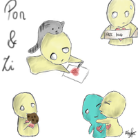 Pon and Zi x3 by PeCe95