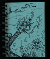 Daily sketch no.66 -Sea Creatures- by IoannisCleary