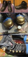 WIP - Brass-Fitted Boots Mark II by Windthin