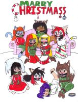 christmass 2008 SJ style by metalzaki
