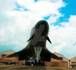 B-1B South Dakota Air and Space Museum by wolfhogen