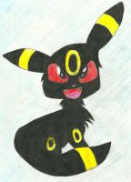 Umbreon Art Trade by AwesomeFangs
