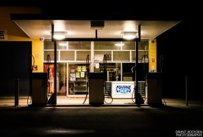 Gas Station by Grant-Booysen