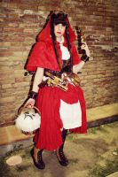 Steampunk Little Red Riding Hood by SierennePoisonz