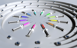 Circle of Syringes by MitchellLazear