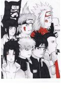 Naruto Family Right Side by solarwind06