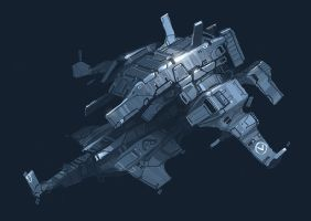 Ship sketch_Barius by Talros