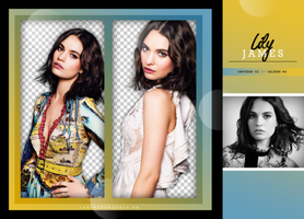 Pack Png - Lily James. by ligthsforstyls