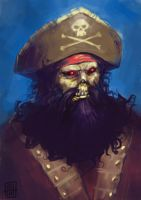 Zombie LeChuck by SirIce