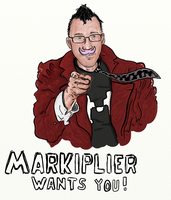 Markiplier Wants You! by GoodOldRetro