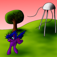When the tripods came to equestria by crimsonblossom42