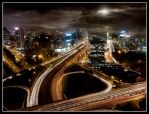 Bright Light, city lights by renefunk
