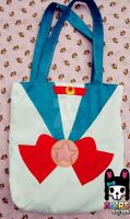 SAILOR MOON TOTE BAG HANDMADE by akirepower