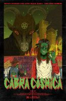 Cabra Cosmica film Poster by burnay