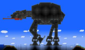 AT-AT in Terraria by James-Fong