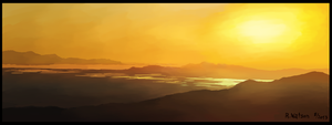 Sunset Speedpaint by merrak