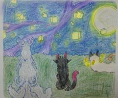 Watching the Lanterns Fly by AliceTheHunted
