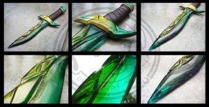 Emerald Green (Dagger) by carlosdouglas
