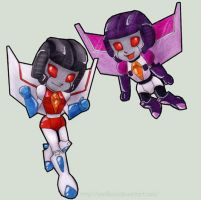 TF G1 - Starscream and Skywarp by Vani-Fox