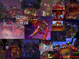 BW Rampage _collage_ by AlphaPrimeDX