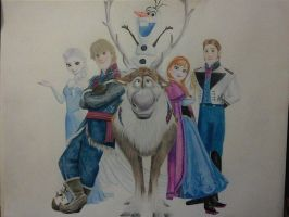 Frozen... by MayaKatrineE