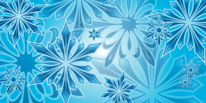 SnowFlake background by Spoon10488