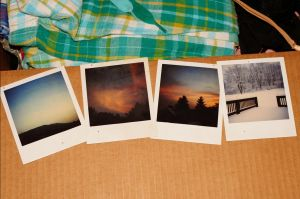 All Four Polaroids I by atsilia