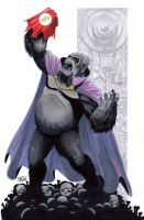 HeroesCon Auction Piece: Gorilla Grodd by Shono