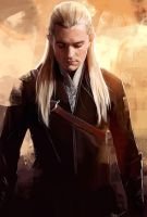 Legolas Greenleaf by WisesnailArt