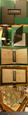 Small Leather Binder - Making of by Astanael