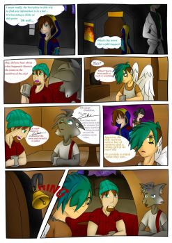 Evolution (Webcomic) - Page2(redo) by KtronTheLordofTime
