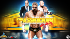 The Asskicker Triple H Wallpaper by T1beeties