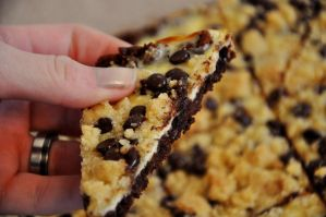 Cookie Dough Cheesecake Bars by Disneys-Buffy