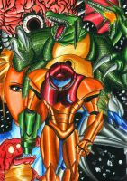 Metroid Zero Mission by Shiranui94