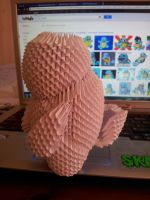Squirtle Prototype 3D Origami by UNSJN