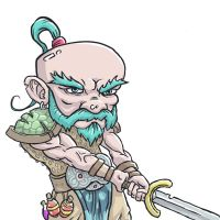 Gnome Barbarian 2 by shamsnelson
