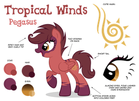 Tropical winds Reference Sheet by ShilaDaLioness